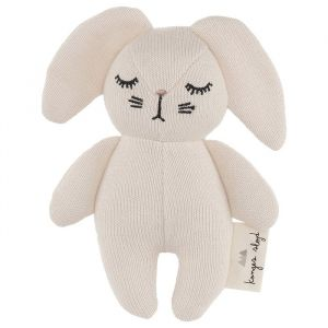 Knuffel mini rabbit off white Konges Slojd