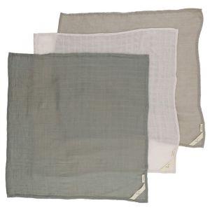 Hydrofiele doeken Lime Stone (3st) Konges Slojd