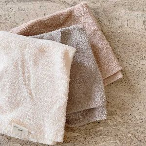 Washandjes Shades of Sand (3st) Konges Slojd