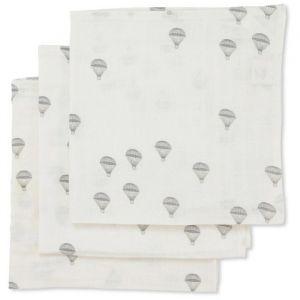 Hydrofiele doeken Parachute creme (3st) Konges Slojd