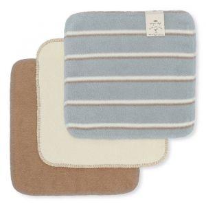 Wasdoekjes Blue Vintage Stripe (3st) Konges Slojd