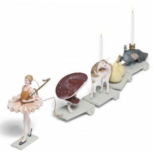 Ballerina voor verjaardagstrein Konges Slojd