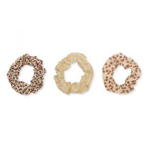 Scrunchies Buttercup rosa/yellow/rosarie (3st) Konges Slojd