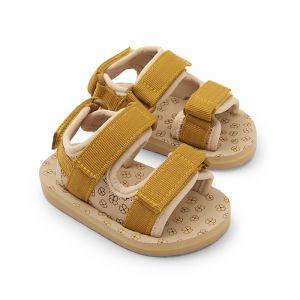 Sandaaltjes Buttercup yellow Konges Slojd