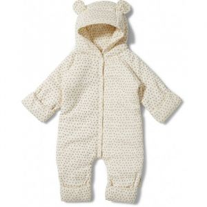 Newborn Onesie Tiny Clover Beige Konges Slojd
