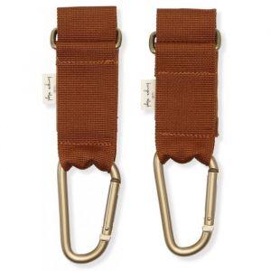 Stroller straps Cognac Konges Slojd