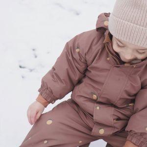 Snowsuit Nohr Lemon Brown Konges Slojd
