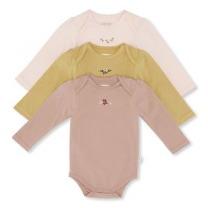 Rompers lange mouw Cue Embroidery rosy 3st Konges Slojd