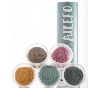 Organische Klei Basic Colors small Ailefo