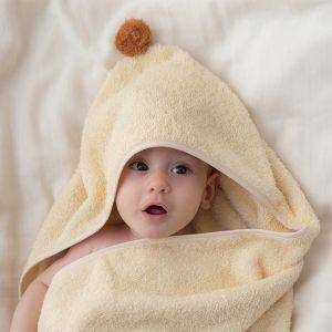 Baby badcape So Cute vanilla Nobodinoz