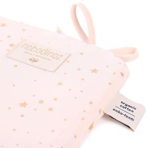 Bedbumper wieg Gold Stella/Dream Pink Nobodinoz