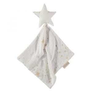 Knuffeldoek Star Gold Stella/White Nobodinoz