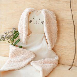 Knuffeldoek Bunny pink Nobodinoz