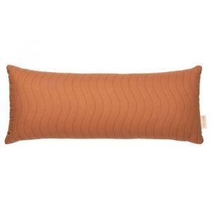 Kussen Montecarlo sienna brown (70x30cm) Nobodinoz