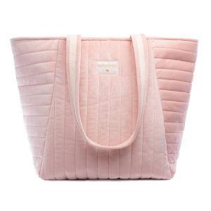 Velvet luiertas Savanna bloom pink Nobodinoz