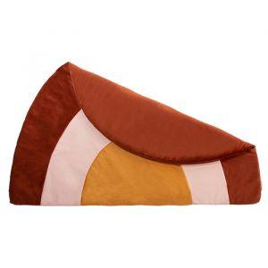Velvet speelkleed Savanna regenboog wild brown Nobodinoz
