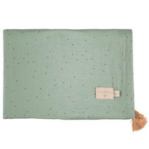 Babydeken Treasure Toffee Sweet Dots/Eden Green Nobodinoz