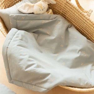Babydeken Laponia Willow Soft Blue Nobodinoz