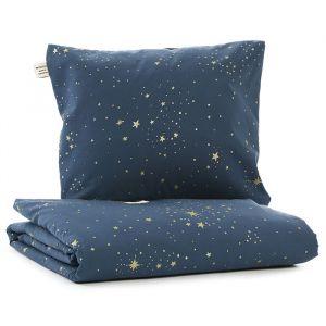 Beddengoed junior Himalaya Gold Stella/Night Blue Nobodinoz
