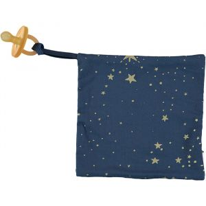 Speendoekje Dodo gold stella/night blue