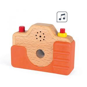 Houten camera met geluid Janod