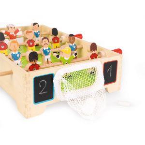 Houten tafelvoetbal spel Janod
