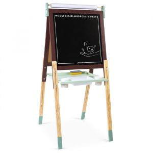 Schoolbord Bordeaux/Mintgroen Janod