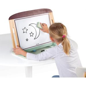 Schoolbord tafelmodel Bordeaux/Mintgroen Janod