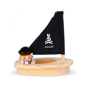Badspeelgoed Kapiteit Melo & boot Janod