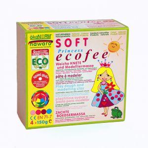 Ecologische speelklei Eco Princess (4st) Ökonorm
