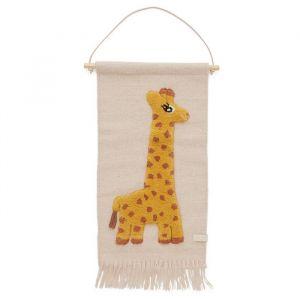 Wandkleed Giraf roze Oyoy