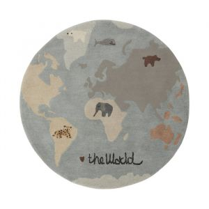 Vloerkleed The World multi Oyoy