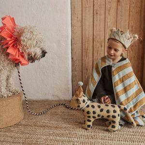 Knuffel Baby Elvis luipaard Oyoy