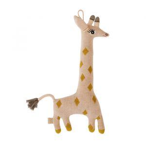 Knuffel Baby Guggi Giraffe rose/amber Oyoy