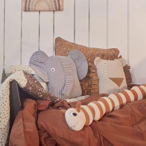 Kussen Erik Elephant denim OYOY