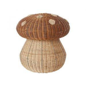 Rotan krukje Mushroom Oyoy