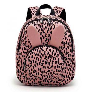 Rugzak Bunny blush pink leopard VanPauline