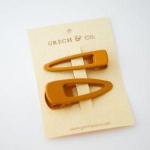Haarclipjes Golden (2st) Grech & Co