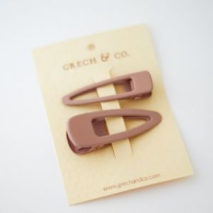 Haarclipjes Shell (2st) Grech & Co