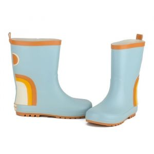 Regenlaarzen Rainbow Light Blue Grech & Co