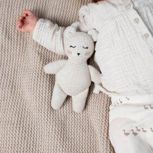 Knuffel Bobby the Polar bear off-white Baby Bello