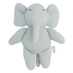 Knuffel Elvy the Elephant blue moon Baby Bello