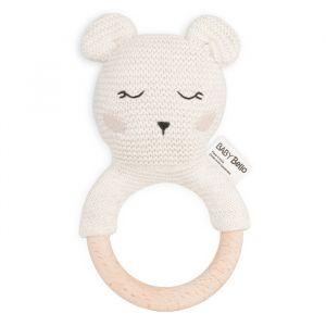Rammelaar Bobby the Polar Bear off-white Baby Bello