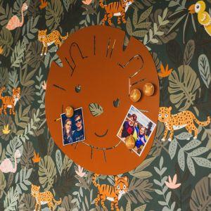 Magneetbord Hakuna Leeuw terra bruin Atelier Pierre