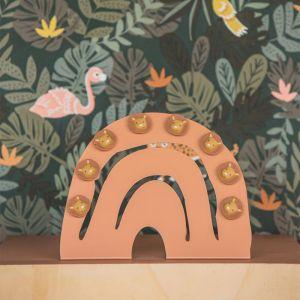 Magneetbord Hakuna Regenboog poederroze Atelier Pierre