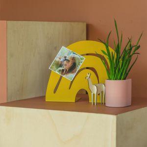 Magneetbord Hakuna Regenboog mosterdgeel Atelier Pierre