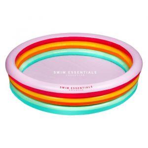 Opblaaszwembad regenboog (150cm) Swim Essentials