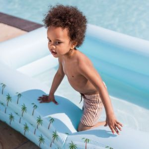 Opblaaszwembad palmbomen rechthoek (200cm) Swim Essentials