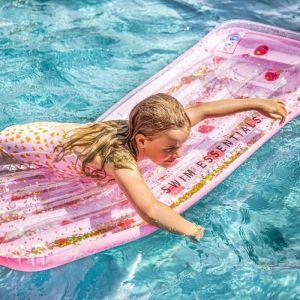 Luchtbed Pink & Red Dots Swim Essentials