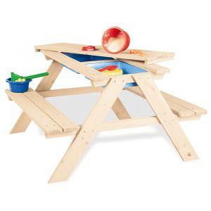 Kinderpicknicktafel zand en water Matsch-Nicki Pinolino